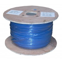 InstallerParts 1000 Ft Cat 6 Stranded Wire Bulk Cable Shielded Blue