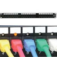 Cat.5E 110 Patch Panel 48Port Rackmount w/LED Indicator
