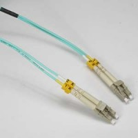 1m LC-LC 10Gb 50/125 LOMMF M/M Duplex Fiber Cable