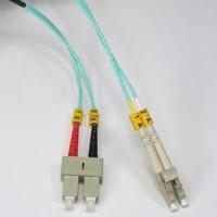 1m LC-SC 10Gb 50/125 LOMMF M/M Duplex Fiber Cable