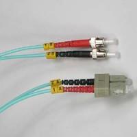 10m LC-ST 10Gb 50/125 LOMMF M/M Duplex Fiber Cable