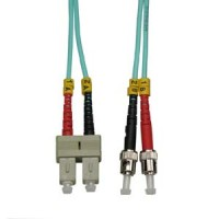 3m SC-ST 10Gb 50/125 LOMMF M/M Duplex Fiber Cable