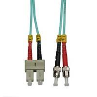 10m SC-ST 10Gb 50/125 LOMMF M/M Duplex Fiber Cable