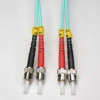 3m ST-ST 10Gb 50/125 LOMMF M/M Duplex Fiber Cable