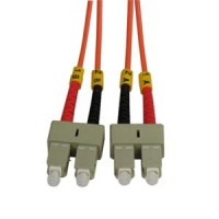 3m SC-SC Duplex Multimode 62.5/125 Fiber Optic Cable