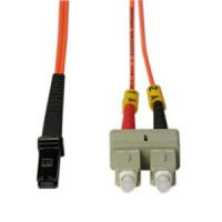 2m SC-MTRJ Duplex Multimode 62.5/125 Fiber Optic Cable