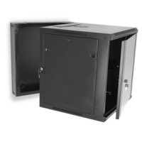 12U Swing Out Wall Mount Cabinet