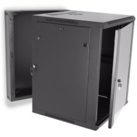 15U Swing Out Wall Mount Cabinet