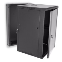 18U Swing Out Wall Mount Cabinet