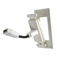 """1Port HDMI Wallplate w/4"""" Pigtail Coupler"""