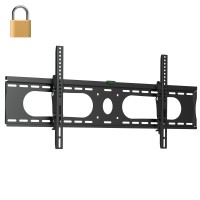 "InstallerParts Lockable TV Mount 40""~75"" Tilt Slim BWLT116XL - LCD LED Plasma Flat Panel Displays - Locking Wall Bracket Perfect for Hotels or Outdoor"