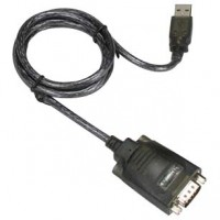 USB1.1 to Serial Adapter DB9-Male/Hex Nut