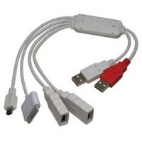 4 Port USB2.0 Squid Hub, iPod/Mini5/A-Female x 2