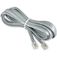 25Ft RJ12 Modular Cable Straight