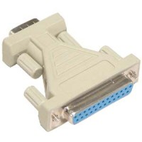 DB9-M/DB25-F Serial Adapter, Thumbscrew(DB25)/Thumbscrew(DB9)