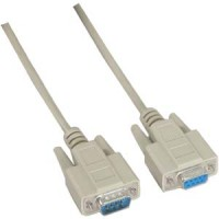 6Ft DB9-M/F Null Modem Cable