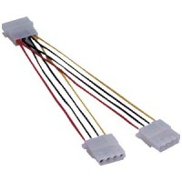8 inch Long 5.25 inch Y Adapter Cable