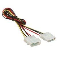 2Ft 4Pin M/F Power Supply Extension