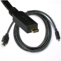 3Ft HDMI Male to Micro(D-Type) Male Cable High Speed with Ethernet