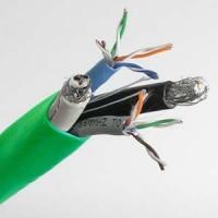 500Ft (Cat.5Ex2)/(RG6 Quad x2) Combo Cable