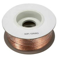100Ft 12AWG Bulk Polarized Speaker Wire Spool