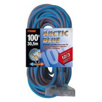100Ft 12/3 Extreme Temp. 3-Tap Extension Cord, LT630835