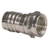 RG59 F-Type Hex Crimp Connector O Ring