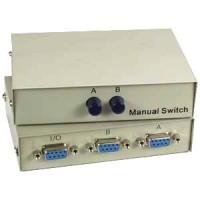 DB9 2Way Manual Switch