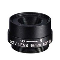 "16.0mm 1 Megapixel Fixed Iris F1.8 1/3"" CS Mount Lens"