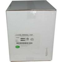 1000Ft Cat.6 Solid Cable Plenum White, ETL