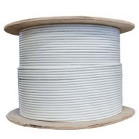 1000Ft Cat.6 Solid Wire Shielded White