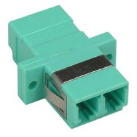 Fiber Optic LC-LC Multimode Duplex OM3 Adapter