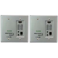 InstallerParts HDBase-T 230 Ft (70m) Single Cable HDMI Wallplate Extender