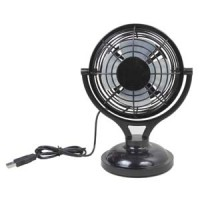 "USB Desktop 4"" Mini Fan USB + Battery (AAx4), Model811"