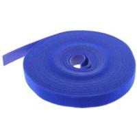 "50Ft 0.8"" Width Velcro Strap Tape Blue"
