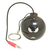 "Mini Rechargeable Bomb Speaker Design ""D"", Angry"