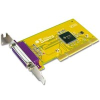 1 Port IEEE1284 Parallel Universal Low-Profile PCI Card