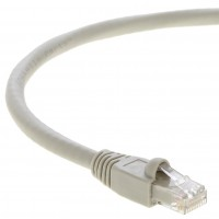 1Ft Cat.6A Patch Cable Molded Gray