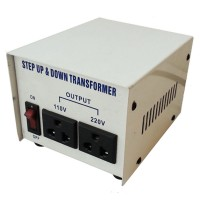 InstallerParts AC Step Up / Step Down Voltage Transformer 500 Watt (1000W Peak) -- 110 / 120 / 220 / 240 Volt -- Fused