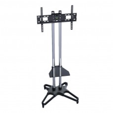 """Flat TV Mobile Cart for 37~70"""" with DVD Deck T1021S (2box/Kit)"""