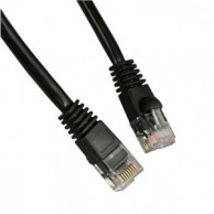 7Ft Cat.5e Molded Snagless Patch Cable Black